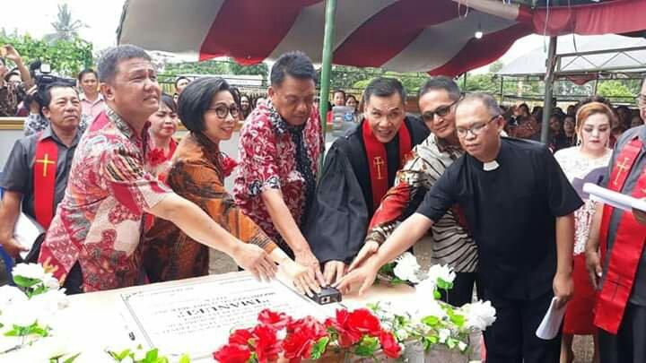 Yasti-Yanny Dampingi Kunjungan Gubernur Sulut di Bolmong