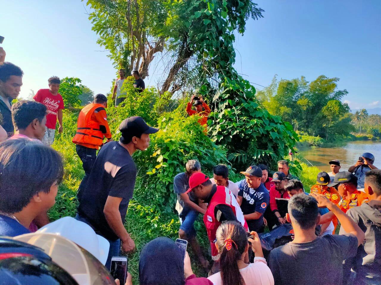 Tim SAR Gabungan Temukan Korban Tenggelam di Sungai Kaiya