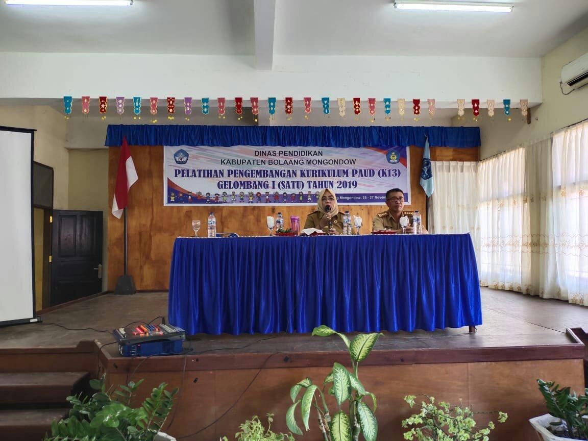 Guru PAUD Bolmong Mendapat Pembekalan Untuk Mewujudkan SRA