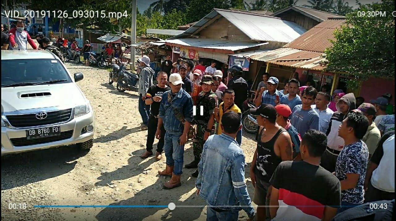 Tim Reskrimsus Polda Sulut Gagal Police Line Lahan di Pegunungan Rumagit