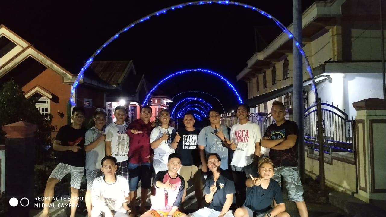 Meriahkan Natal dan Tahun Baru Pemuda Desa Uuwan Gelar Lomba  Lampu Hias