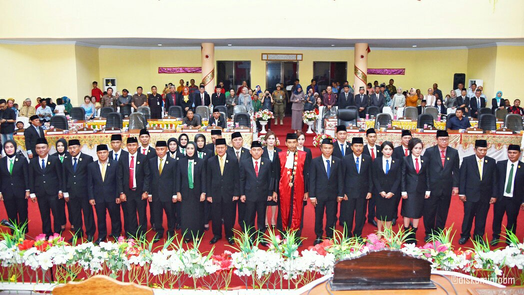 Anggota DPRD Bolmong Periode 2019-2024 Resmi Dilantik