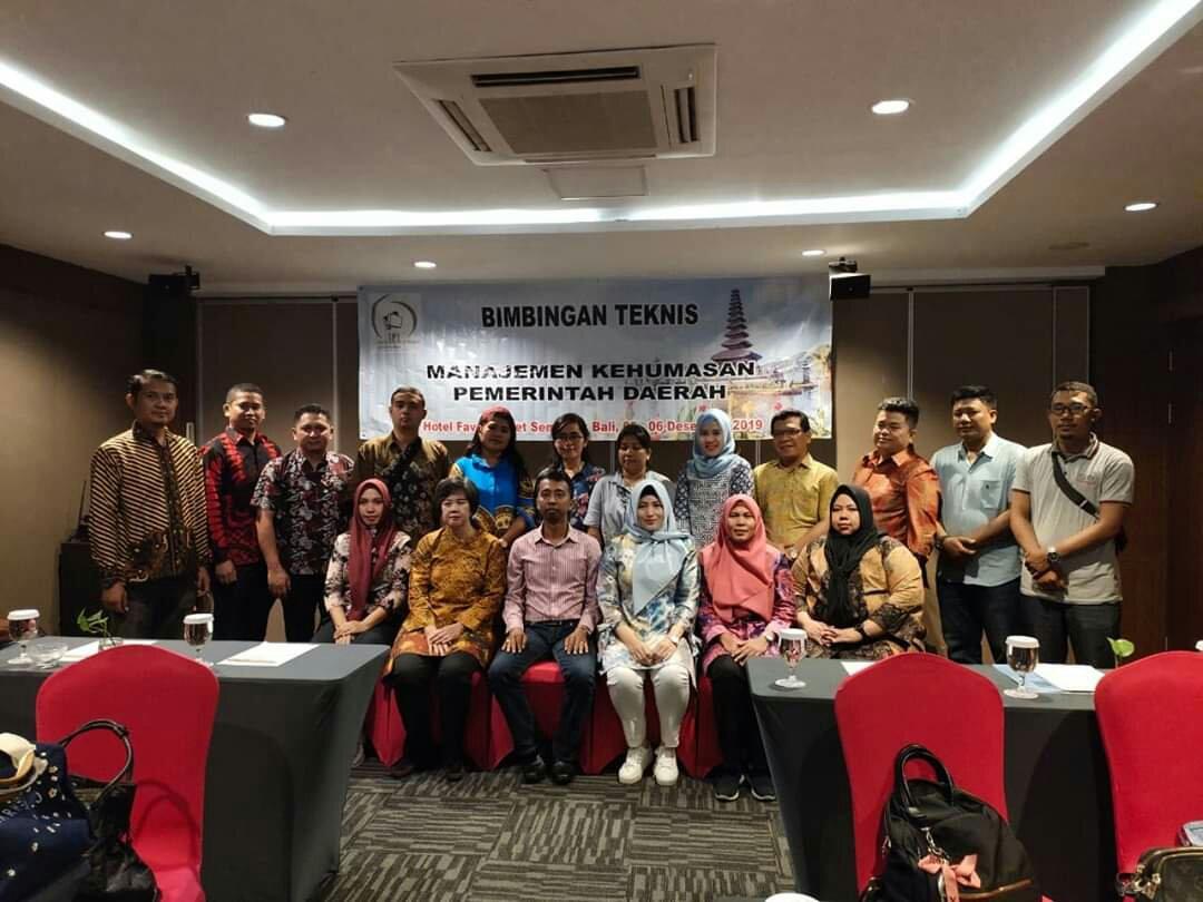 Maksimalkan Komunikasi Dua Arah, Pemkab Bolmong Ikuti Bimtek Manajemen Kehumasan Pemerintah Daerah