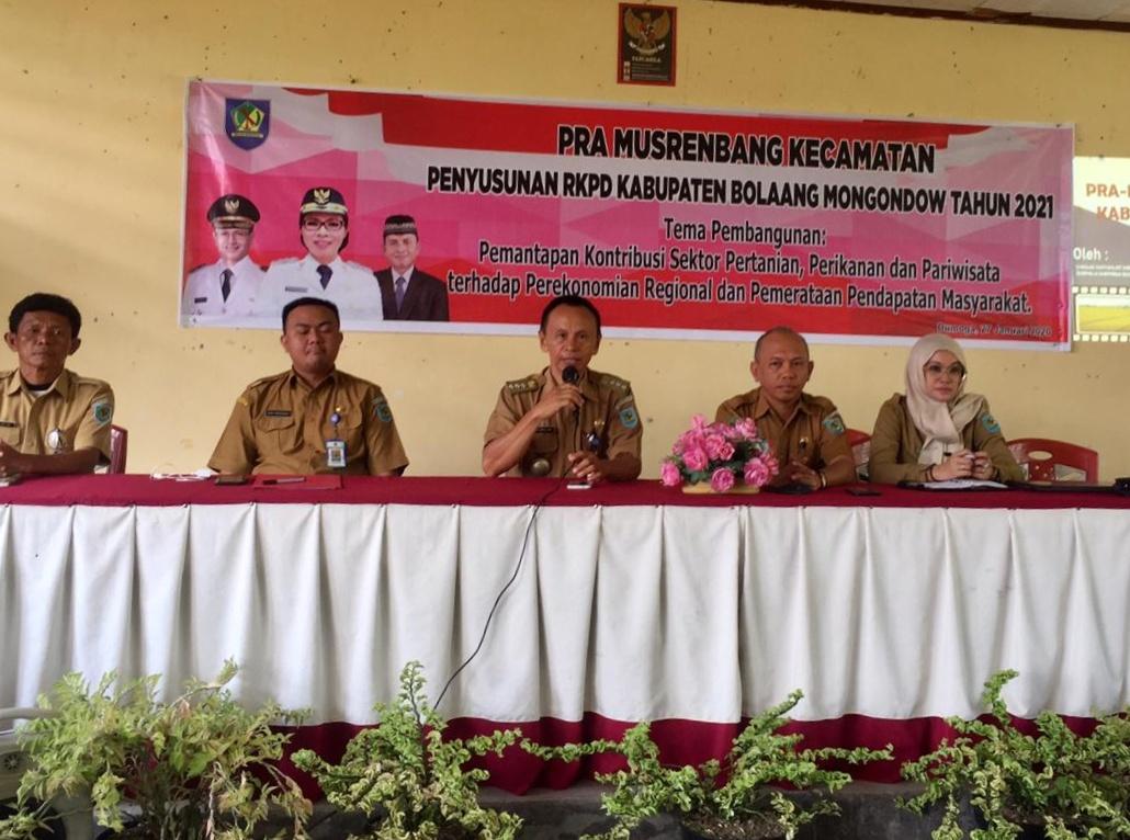 Dumoga Bersatu Awali Pra Musrenbang di Bolmong