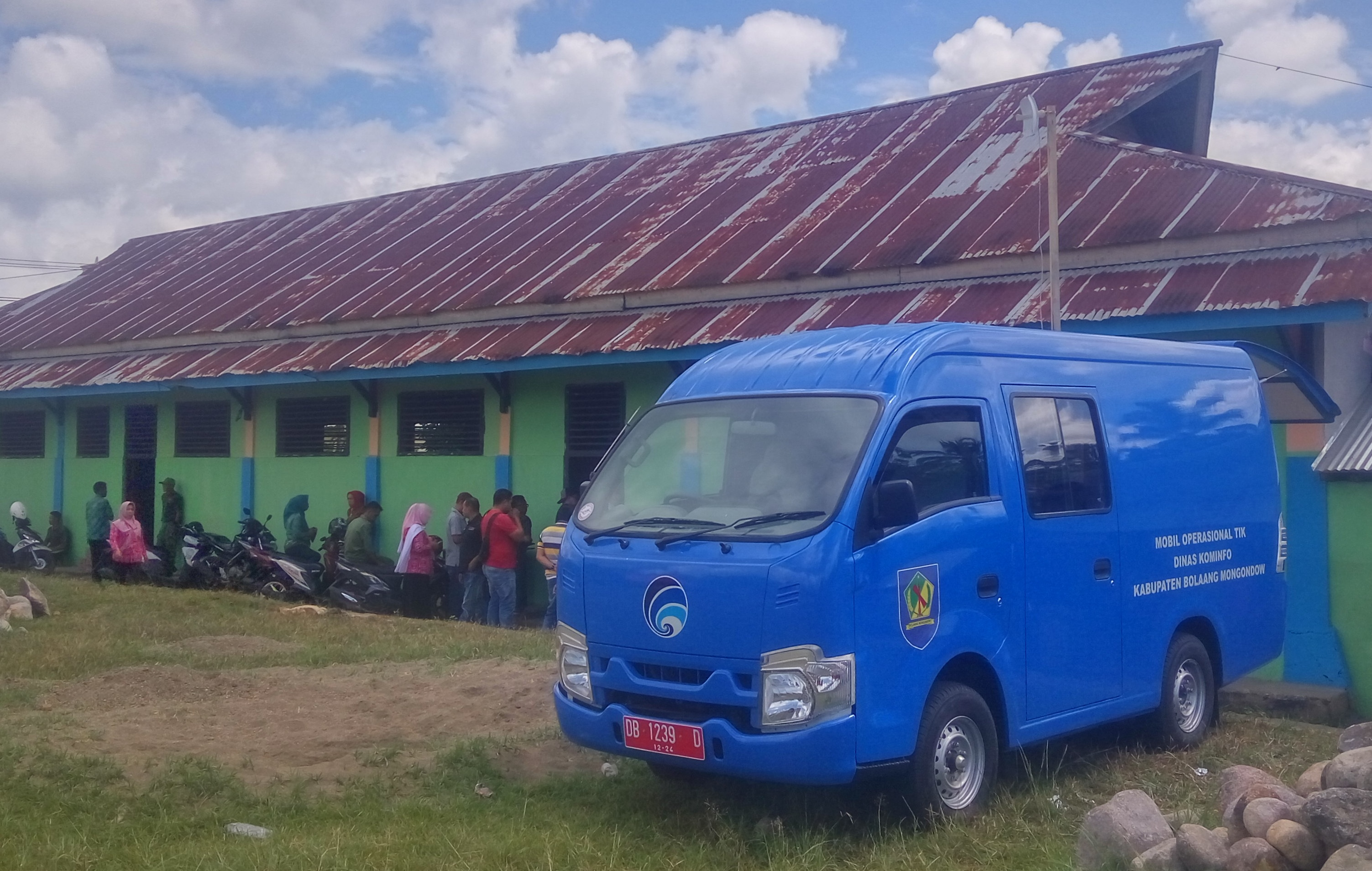 Mobil TIK Diskominfo Bolmong Support Pelaksanaan Musrenbang