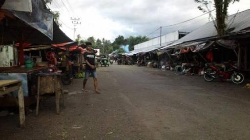 Persiapan Relokasi Pasar Lolak, Fasilitas Pasar Dulangon Dibenahi
