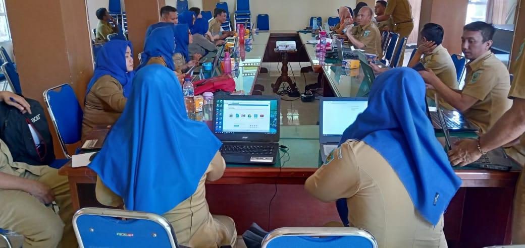 Jelang Musrenbang Bappeda Gelar Pelatihan Penginputan E-Planning