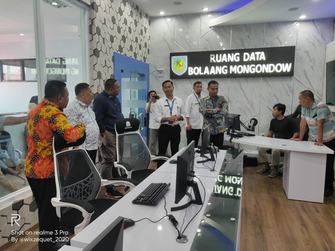 DPRD Gorontalo Kunjungi Data Center Diskominfo Bolmong